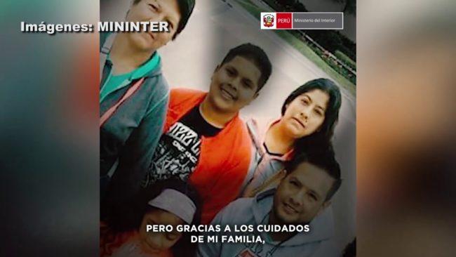Perú: difunden videos motivadores de policías que vencieron la COVID-19