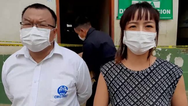 Empresa china Railway incentiva a policías que laboran ante estado de emergencia