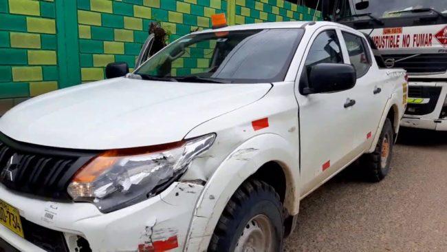 Imprudencia de conductor de ocasiona  accidente en carretera Tarapoto – Yurimaguas