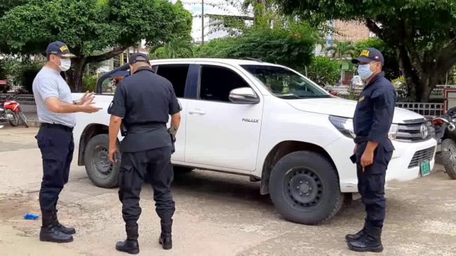 Jefe policial confirma que efectivos con COVID-19 en están siendo atendidos