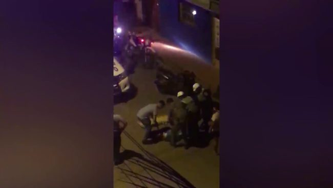 Perro ocasiona despiste de motociclista que resultó con heridas de consideración