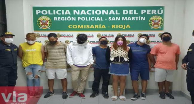 Rioja: encuentran marihuana en intervención  a vivienda donde se realizaba fiesta