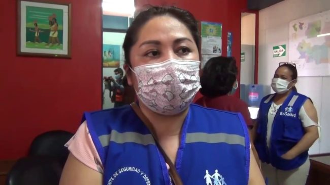 Tarapoto: 70 pacientes covid vienen siendo atendidos en el Hospital de EsSalud