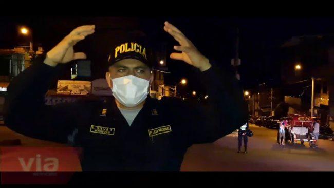 Tarapoto: continúa operativo para ordenar tránsito en barrio Comercio