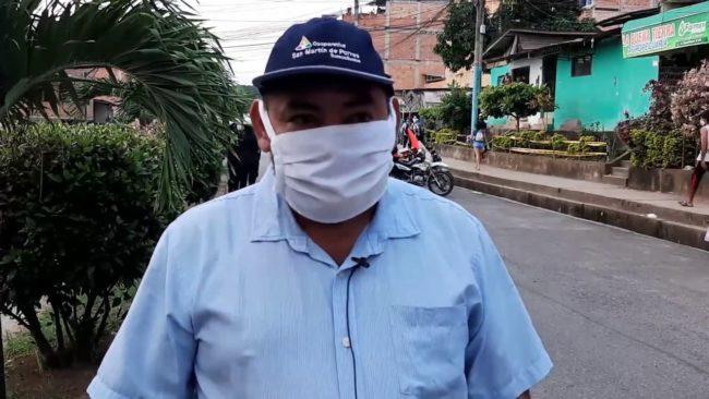 Tarapoto: personas en cuarentena  continúan arrojando basura a la calle