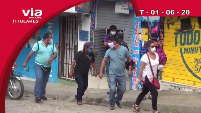 Titulares 01 de junio del 2020 – VIA Noticias de Tarapoto