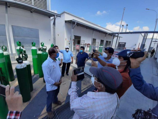 Planta de oxígeno del Hospital de Tocache abastece a Moyobamba y Tarapoto