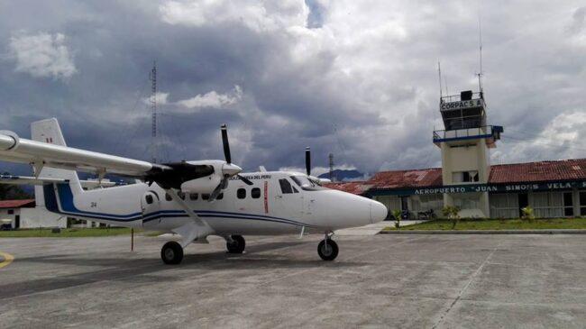 Alto Mayo: evalúan reactivación del aeropuerto de Rioja