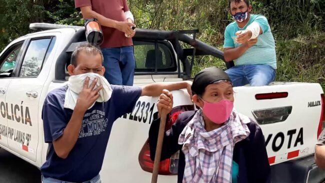 Anciana muere tras ser  atropellada por motocicleta en Lamas