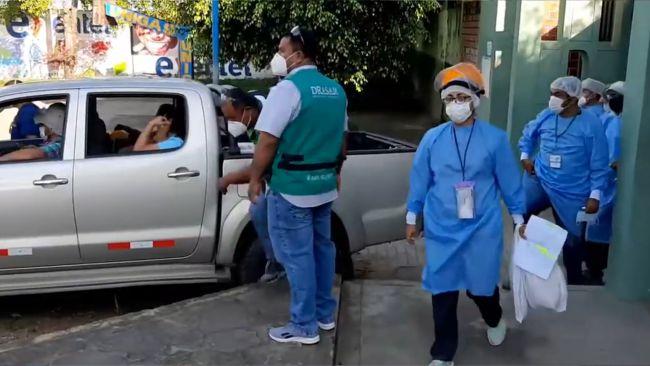 COVID: Brigadas de atención rápida se desplazan a los distritos de San Martín