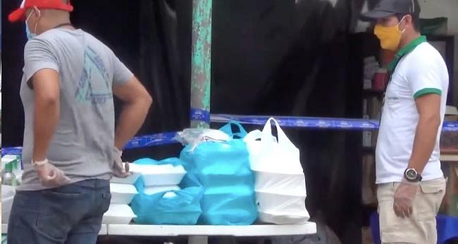 Empresarios hacen llegar alimentos a familiares de pacientes con COVID-19