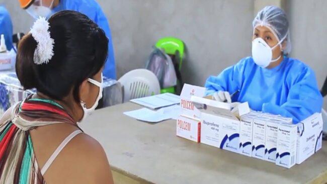 Establecimiento de salud itinerante llega La Banda de Shilcayo
