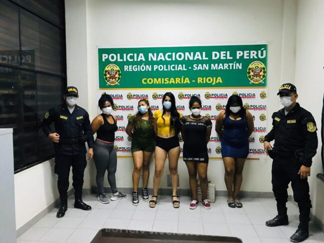 """Rioja: Intervienen a 5 féminas y 13 parroquianos en conocido night club """"la trampa"""""""