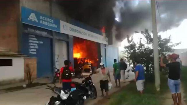 Picota: población exige la creación de un cuerpo de bomberos urgente
