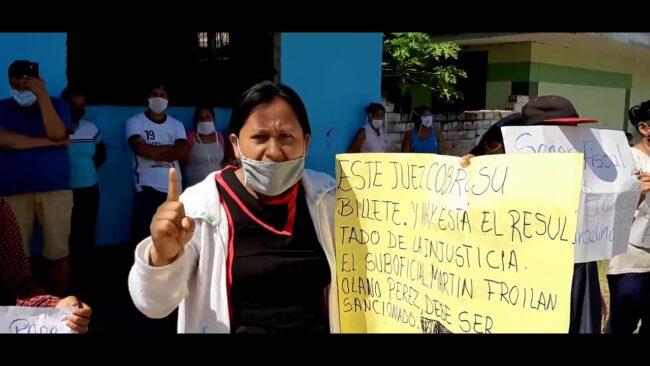 Maceda: protestan por liberación de policía involucrado en la muerte de poblador