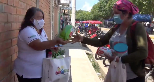 Brindan apoyo a gemelo prematuro de Tocache transferido a Tarapoto