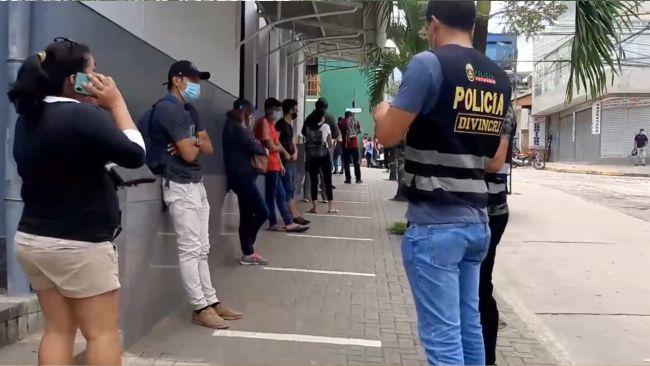 Tarapoto: operativo para detectar personas y vehículos requisitoriados
