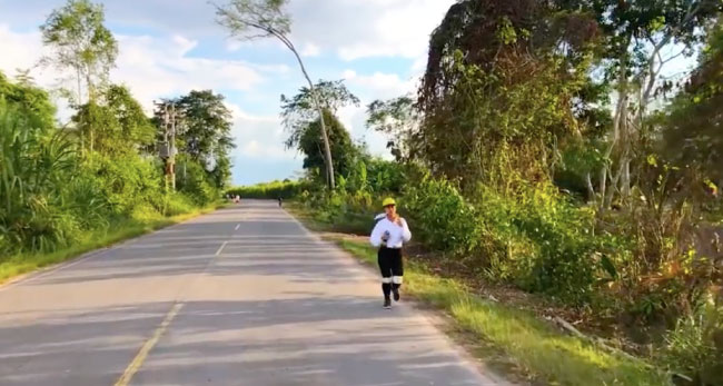 Riojanos sacan beneficio de la cuarentena en carretera a Posic