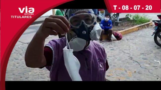 Titulares 08 de julio del 2020 – VIA Noticias de Tarapoto