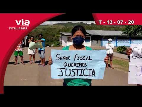 Titulares 13 de julio del 2020 – VIA Noticias de Tarapoto