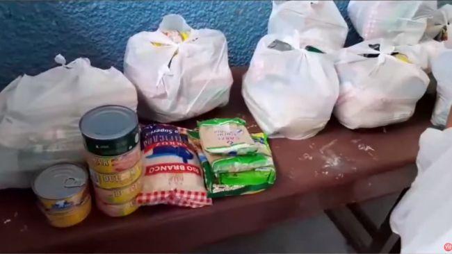 Distribuyen alimentos del programa Qali Warma en Las Palmas