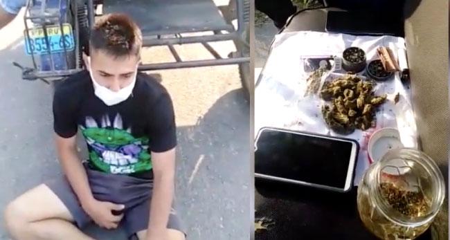 Intervienen a presuntos microcomercializadores de marihuana