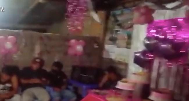 Bellavista: intervenidos  por celebrar fiesta de 15 años