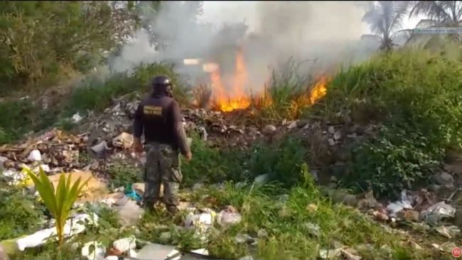 Nuevo incendio forestal causa alarma en vecinos del sector Chontamuyo