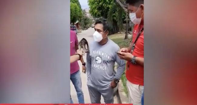 PNP detiene a supuesto comercializador de droga en la Banda de Shilcayo