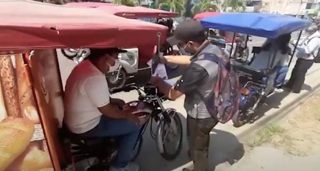 Tarapoto: reinician operativos  por habilitación vehicular