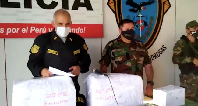 Cargamento de droga decomisada era de narcotraficantes internacionales