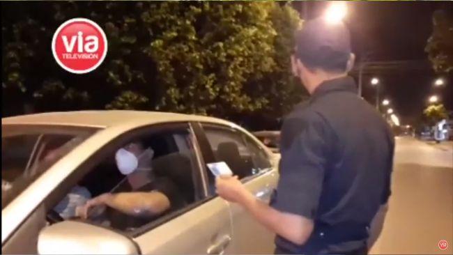 Tarapoto: sancionan a conductores por transitar en pleno toque de queda