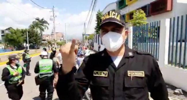 Tarapoto: retienen mototaxis por ocasionar ruidos molestos
