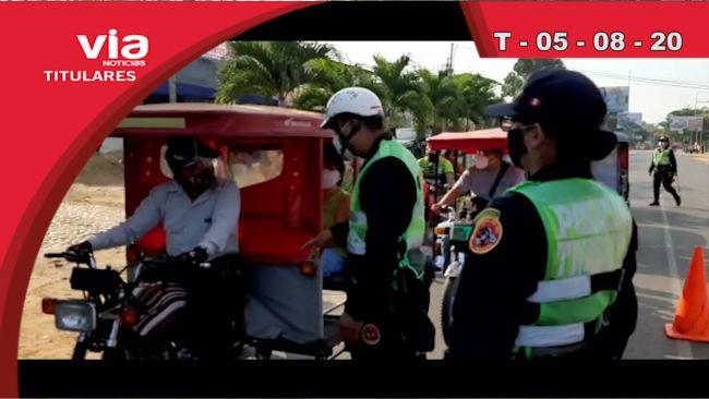 Titulares 05 de agosto del 2020 – VIA Noticias de Tarapoto