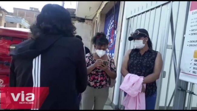 Trabajadoras de limpieza llegan a SUNAFIL  para denunciar falta de pago en Essalud