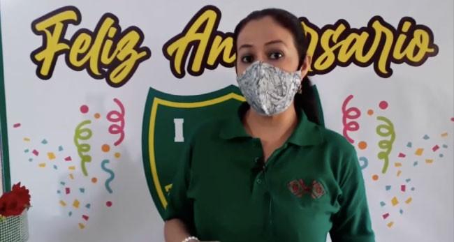 De manera virtual celebran aniversario de institución educativa de Chazuta