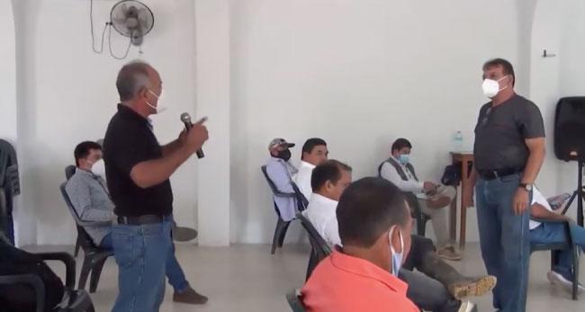 Productores de arroz debaten el presupuesto que les brinda el GORESAM