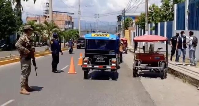 Imponen multas a mototaxistas por no contar con habilitación vehicular