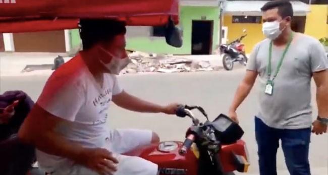 Intervienen a mototaxistas por ocasionar contaminación sonora
