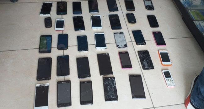 Recuperan celulares hurtados bajo diversas circunstancias