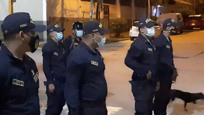 Continúan los operativos por  toque de queda en el distrito bandino