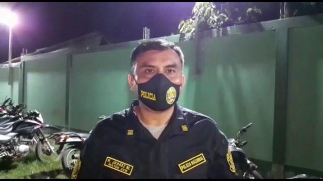 Picota: Recuperan motos  hurtadas en la ciudad de Tarapoto