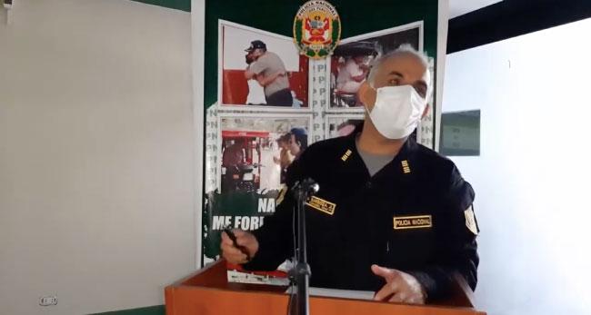 Tarapoto: región policial presenta  intervenciones más resaltantes