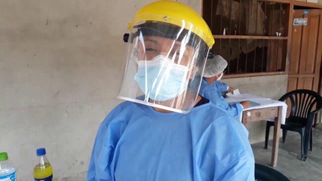 Realizan campaña médica en el centro poblado Tres de Octubre