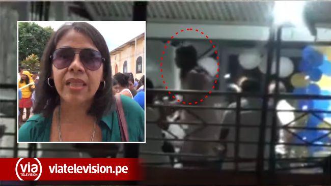 Regidora de Lamas molesta con vecino que denunció su fiesta familiar