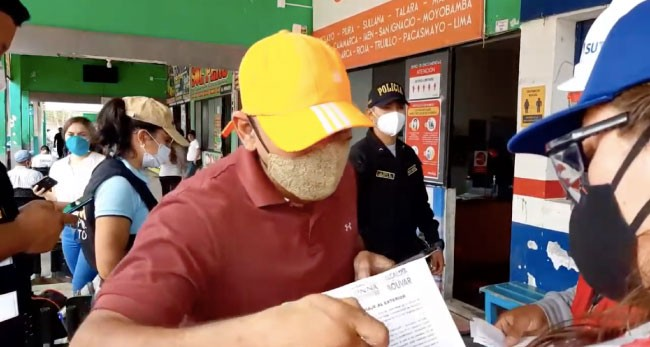 Intervienen a venezolano que ingresó irregularmente a Perú