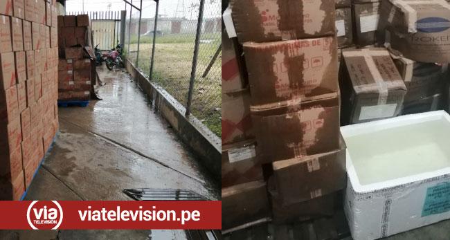 Moyobamba: medicina se moja durante lluvia en OGESS Alto Mayo