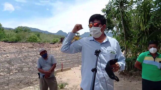 Morales: empresa se compromete a construir escalinata de acceso al río Cumbaza