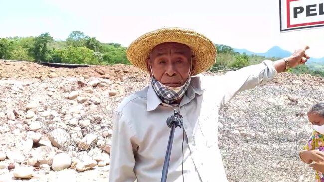 Morales: vecinos incómodos porque les  dejaron sin acceso al río Cumbaza