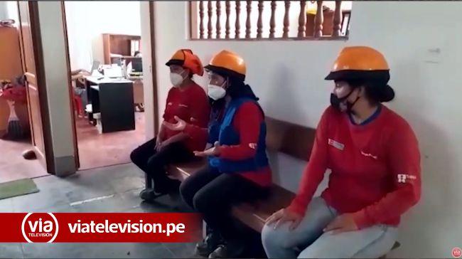 Picota: trabajadores de programa Trabaja Perú denuncian demora en el pago